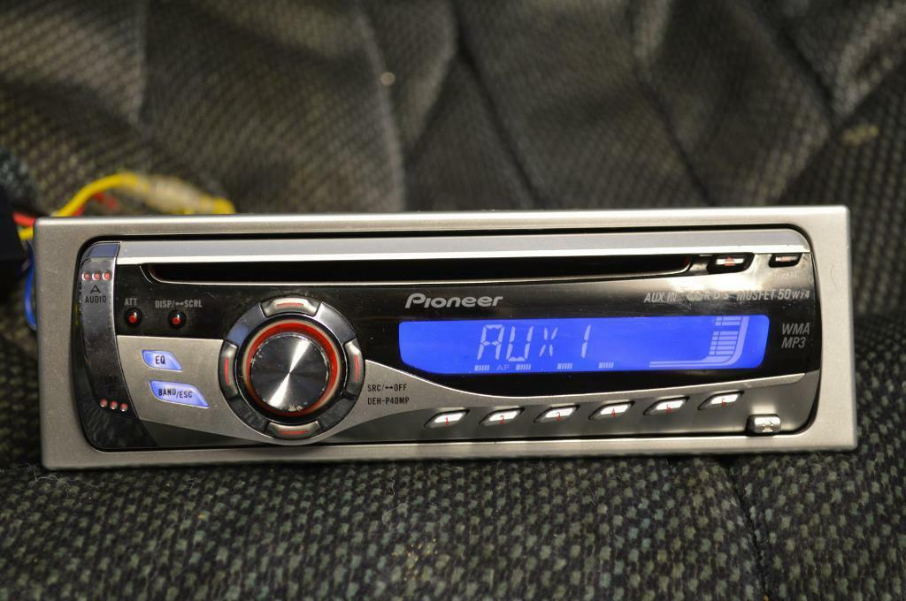 pioneer car stereo instructions