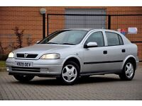 2000 Vauxhall Astra 1.6 i Club+12 MONTHS MOT+1 FORMER KEEPER+SERVICE HISTORY