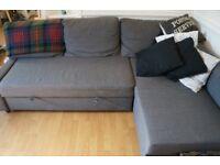 Ikea grey Friheten corner sofa bed