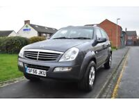 SSANGYONG REXTON 2.7 TD RX 270 SE SPORT 5DR ( FULL SERVICE HISTORY)