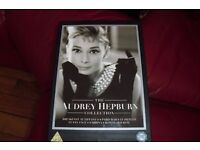 """""""AUDREY HEPBURN"""" COLLECTION OF DVD'S ALL NEW STILL SEALED BOX SET"""