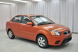 2010 Kia Rio LX 5SPD SEDAN w/ BLUETOOTH, A/C, CRUISE & HEATED S