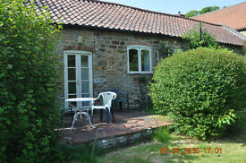 Nicely furnished cottage to let for term of 6 months. Price includes council tax and is per week.