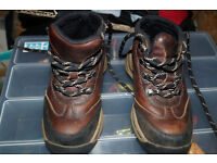 Timberland Back Road Hiker Boys Youth Boot Brown size 7.5