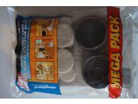 FeltGard - unopened mega pack of premium felt pads and non slip castor cups (29 pieces)