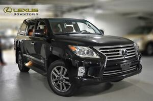 2014 Lexus LX 570 ULTRA PREMIUM, 1 OWNER, NO ACCIDENT, NAV, DVD,