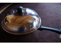 STAINLESS STEEL STIR FRY ( WOK ) PAN FOR SALE
