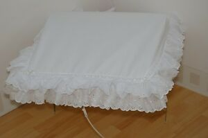 WHITE PRAM SUN CANOPY TO FIT SILVER CROSS AND COACH BUILT  PRAMS
