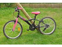 Girl's bike.