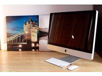 APPLE iMac 27 - Core i5/8gbRAM/2TB SSHD/El Captain w/ Keyboard and Mouse.
