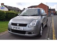SUZUKI SWIFT 1.5 GLX 3DR PETROL ( PART SERVICE HISTORY)