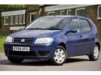 2004 Fiat Punto 1.2 8v Dynamic 5 DOORS+12 MONTHS MOT+1 OWNER FROM NEW+CHEAP TO RUN