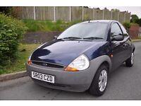 Ford ka 1.3 petrol 2003 *FSH* *1 owner* *LOW MILEAGE*
