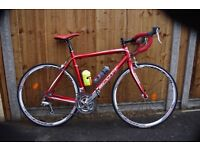 Scott Speedster S50 road bike 54cm frame, mint condition, maintenance stand and HP pump