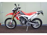 2016 Honda CRF 250L Road Legal with £1200 upgrades - Immaculate Condition