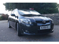 2008 Toyota auris sr 180 sport very low mileage 1 owners. t 07921800005