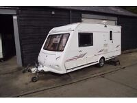 R&K CARAVANS 2005 ELDDIS ODYSSEY 482 END BATHROOM, WITH 12 MONTH WARRANTY SUBJECT TO CONDITIONS