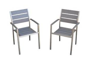 Anodised Outdoor Aluminum Harbour polywood dining chair