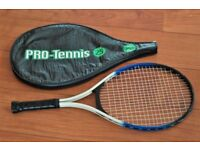 *** Junior Tennis Racket + Cover ***