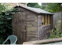 Garden Shed with Apex Felt Roof