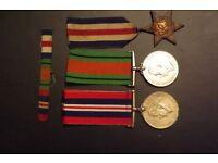 WW2 british medals