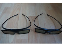 Samsung Active 3D glasses (2 pairs)