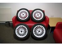 Fox Racing Evo 2 White Alloy Wheels 6.5x15 ET35 4x108 (To fit Ford models)
