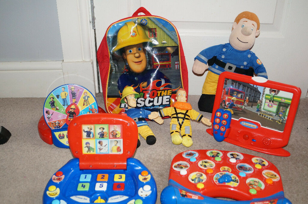 Large Big Fireman Sam Bundle-Toys and Eqiupment