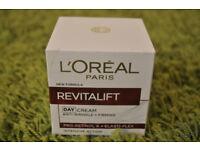 loreal revitalift day cream brand new