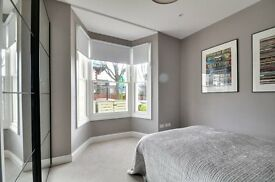 Stylish 2 bed 2 bath, ground floor garden flat in w3