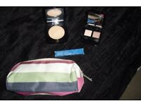 SELECTION OF NEW MAKE UP ITEMS INCLUDING NEW MAKE UP CASE