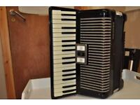 Accordion , Black Hohner Arietta 1M for sale