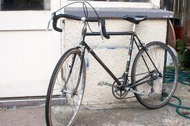"""Vintage Road Bike, Holdsworth 20"""" Reynolds 531 frame"""