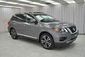 2017 Nissan Pathfinder PLATINUM 4x4 7PASS SUV w/ BLUETOOTH, HEAT