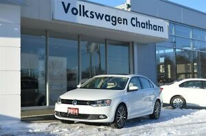 2014 Volkswagen Jetta 1.8 TSI Highline Sunroof Heated Leather