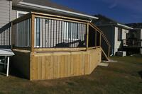 Loose Ends -Fences, Decks, Retaining Walls, Landscaping