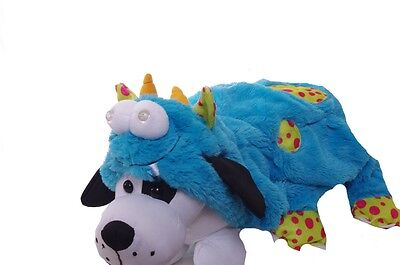 Dog Animal Pet Light Up Blue Monster Halloween Costume Cute Funny Large NEW - Funny Large Dog Halloween Costumes