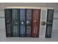 Game Of Thrones Books - Paperback Set. Like New Condition!
