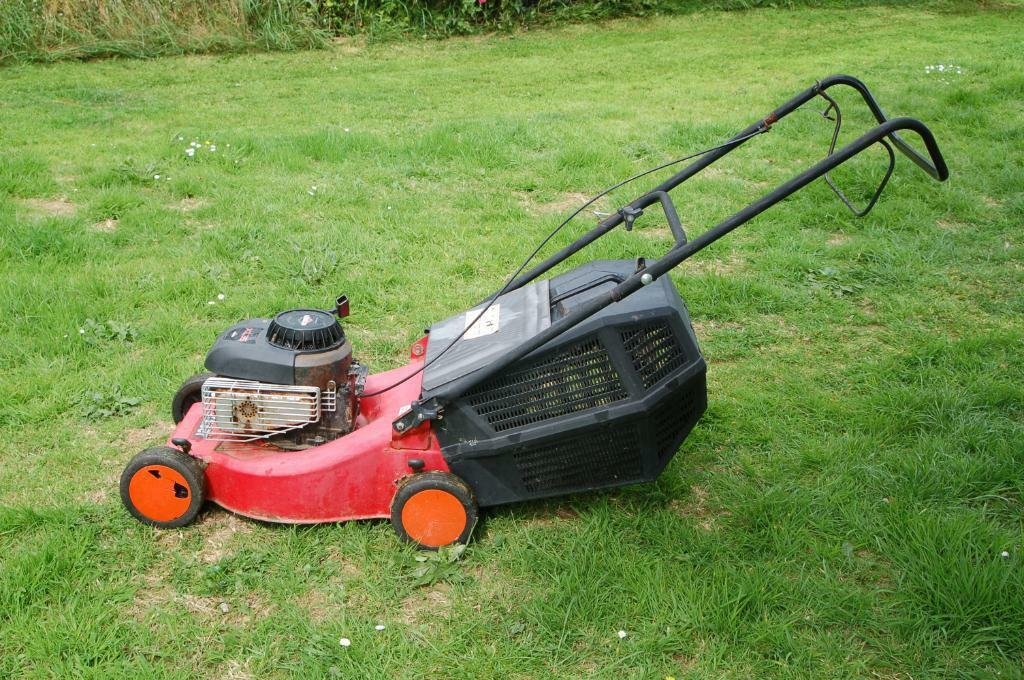 Petrol Motor Mower In Camborne Cornwall Gumtree