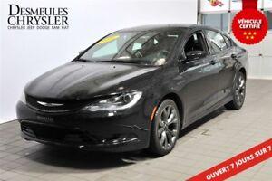 2016 Chrysler 200 S**V6**JANTES HYPERBLACK 19''**