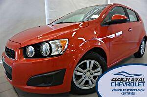 2012 Chevrolet Sonic ** 45 921 KM **