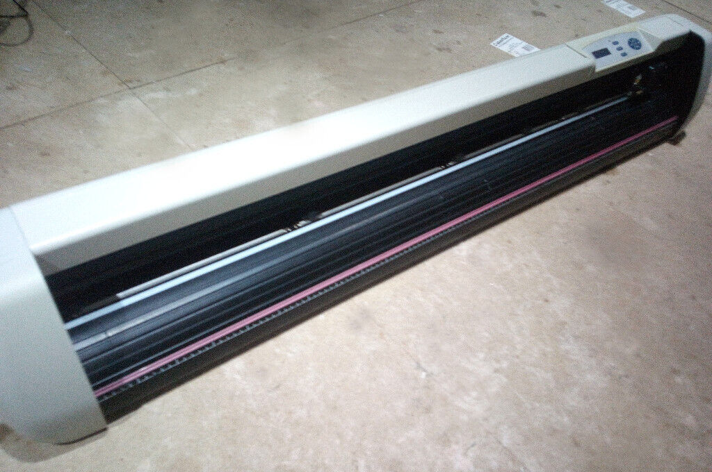 used large format vinyl cutter Liyu sc1261 up to 49 inch plotter | in  Llanelli, Carmarthenshire | Gumtree