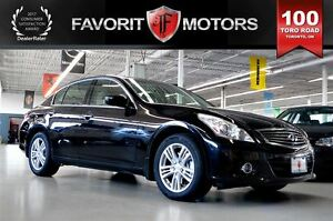 2011 Infiniti G25X Luxury AWD | LTHR | BACK-UP CAM | MOONROOF