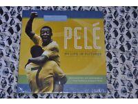 Pele collectors book still in plastic wrapping