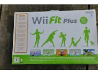 WII FIT PLUS [BALANCE BOARD AND GAME SET] NEW BOXED