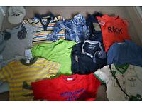 Big bundle of baby boy clothes size 12-18 months.