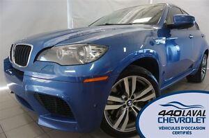 2012 BMW X6 M X6M*AWD*CUIR*TOIT*GPS*V8