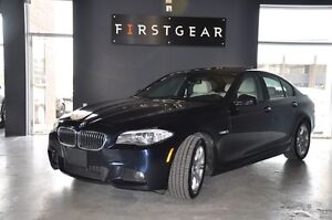 2013 BMW 5 Series 528i xDrive, M Package, Factory warranty