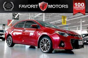 2014 Toyota Corolla S | LTHR | BACK-UP CAM | HEATED SEATS | SUNR