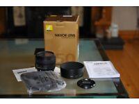 Nikon 50mm lens (AF-S 50mm f/1.8G)